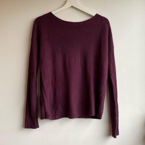 Garage Sweaters - Garage Purple Knitted Sweater
